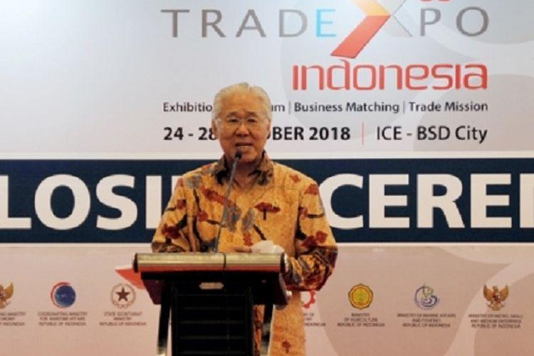 Menteri Perdagangan, Enggartiasto Lukita secara resmi menutup perhelatan Trade Expo Indonesia (TEI) 2018 di ICE BSD City, Tangerang, Banten, Minggu (28/10/2018).