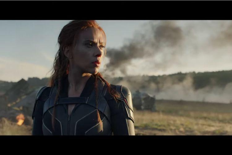 Aktris Scarlett Johansson dalam film Black Widow