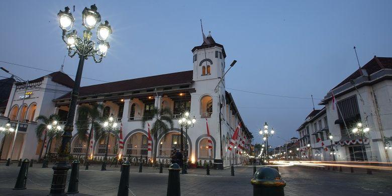 Wajah baru Kawasan Kota Lama di Kota Semarang