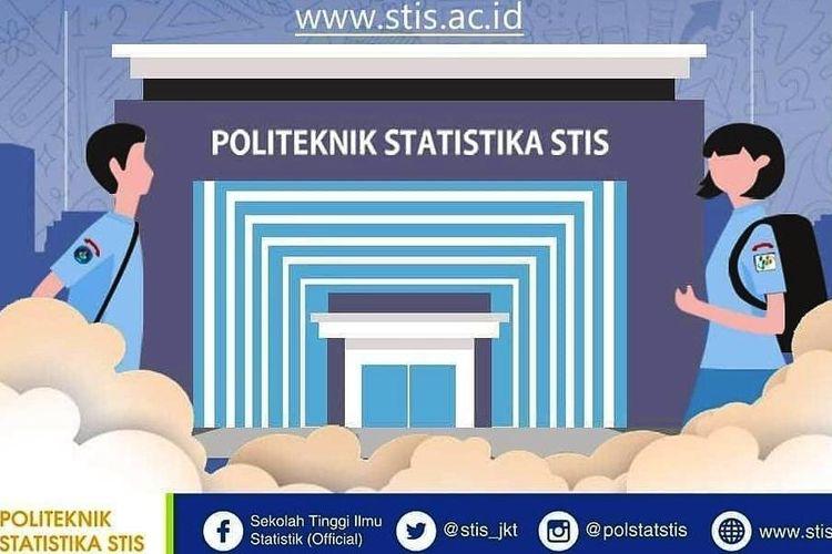 Tangkapan layar info PMB Polstatstis Angkatan 62.