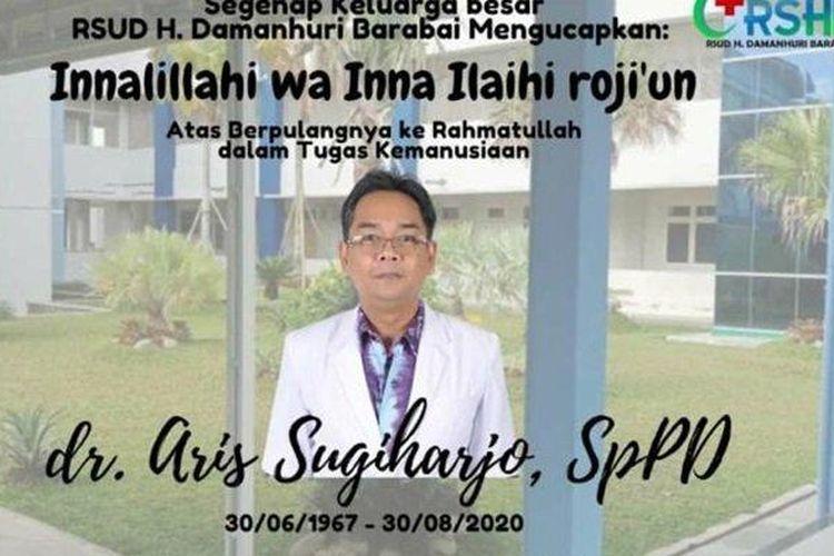 dr Aris Sugiharjo SpPD