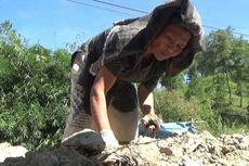Nenek Langi, Perempuan Tangguh Asal Mamasa, Pecahkan Batu Setiap Hari demi Anak Cucu