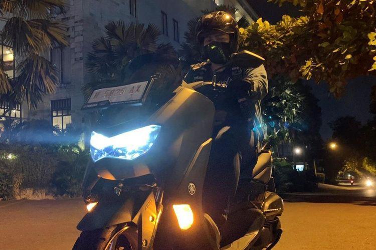 Tips naik motor saat malam hari