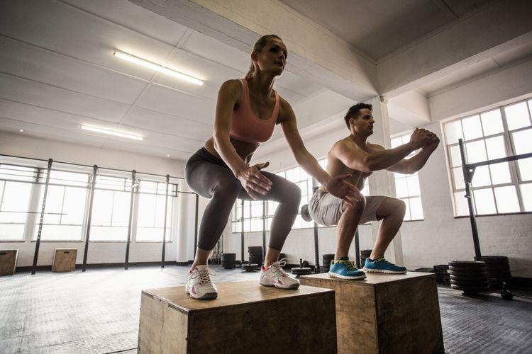 Ilustrasi jump squats