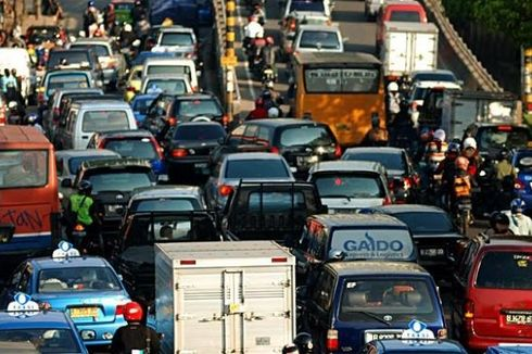 Jurus Haji Lulung Kurangi Kemacetan kalau Jadi Gubernur