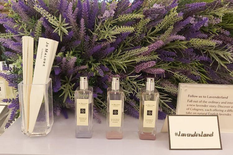 Tiga pilihan aroma wewangian dengan kombinasi lavender dari Jo Malone.