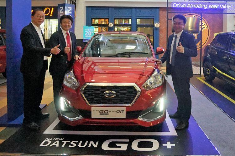 Peluncuran Datsun GO+ Panca CVT