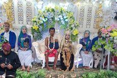 Foto Viral Pernikahan Mempelai Pria Bercelana Pendek dengan Tubuh Penuh Luka, Ini Cerita di Baliknya