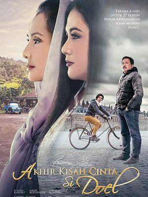 Poster film Akhir Kisah Cinta Si Doel.