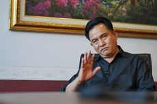 Yusril Enggan Tanggapi Kemungkinan Jadi Menteri Kabinet Jokowi