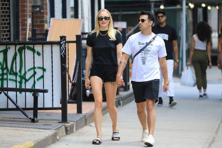Pasangan Joe Jonas dan Sophie Turner.