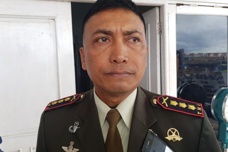 Komandan Korem 172/PWY Kolonel Inf J. Binsar Parluhutan Sianipar