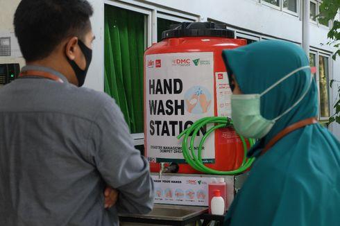 """Sambut """"New Normal"""", Dompet Dhuafa Pasang Tempat Cuci Tangan di Fasilitas Umum"""