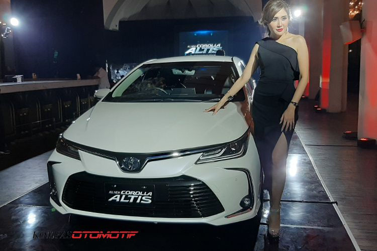 Spesifikasi lengkap All New Toyota Corolla Altis 2019
