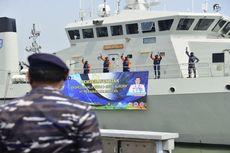 KSAL Lepas Keberangkatan Tim Peneliti Jala Citra I Aurora ke Halmahera