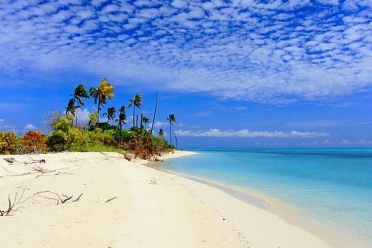 Pulau Lantigiang, Kecamatan Takabonerate, Kabupaten Kepulauan Selayar, Sulawesi Selatan. Dok Asri