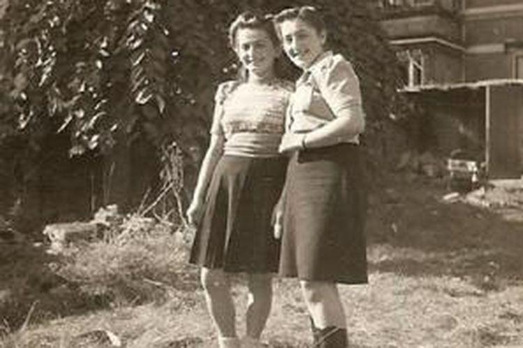 Rena (kiri) dan Danka Kornreich (kanan).