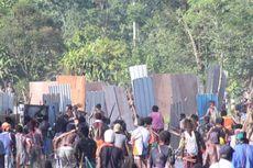 Sengketa Lahan Jayanti, Lagi-lagi Dua Kelompok Warga Bentrok di Mimika