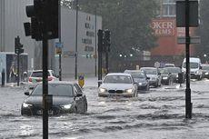Banjir di London Membuat Layanan Gawat Darurat Rumah Sakit Ditutup