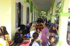 Kendala Pengungsi Tsunami di Banten, Distribusi Logistik hingga Tenda