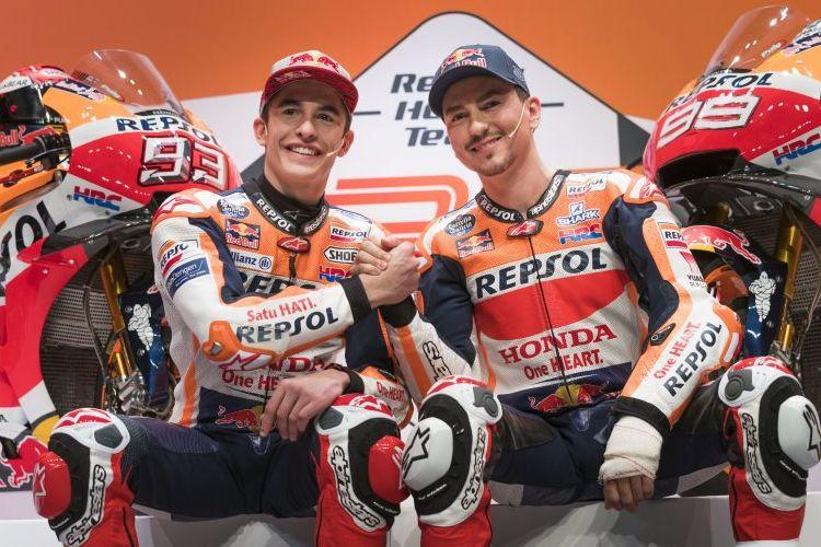 Motor balap Repsol Honda musim 2019 resmi meluncur.