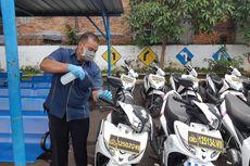 Cegah Corona, Satpas SIM Daan Mogot Semprot Disinfektan di Ruang Pelayanan dan Kendaraan Praktik