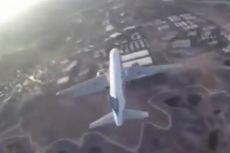 Aksi Drone Rekam Pesawat Penumpang Mendarat di Las Vegas Tuai Kecaman