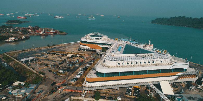 Kawasan Bakauheni yang rencananya akan dijadikan sebagai destinasi wisata tepi laut.