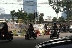 Jalan Ambles Dekat Karet Bivak Sudah Diperbaiki