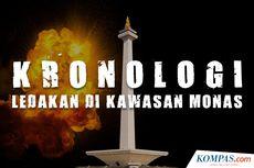 INFOGRAFIK: Ledakan di Kawasan Monas