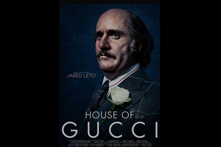 Penampilan Jared Leto dalam film House of Gucci.
