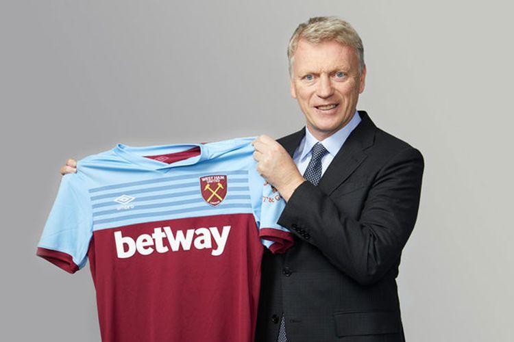 Pelatih baru West Ham United, David Moyes, dalam foto yang diunggah di laman West Ham United pada 29 Desember 2020.