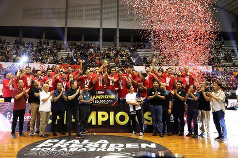 Hadiah Cair Lebih Cepat, Satria Muda dan Hangtuah Apresiasi Panitia Piala Presiden Basket 2019