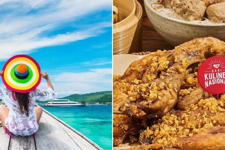 Ilustrasi liburan dan Hari Kuliner Nasional dari GoFood