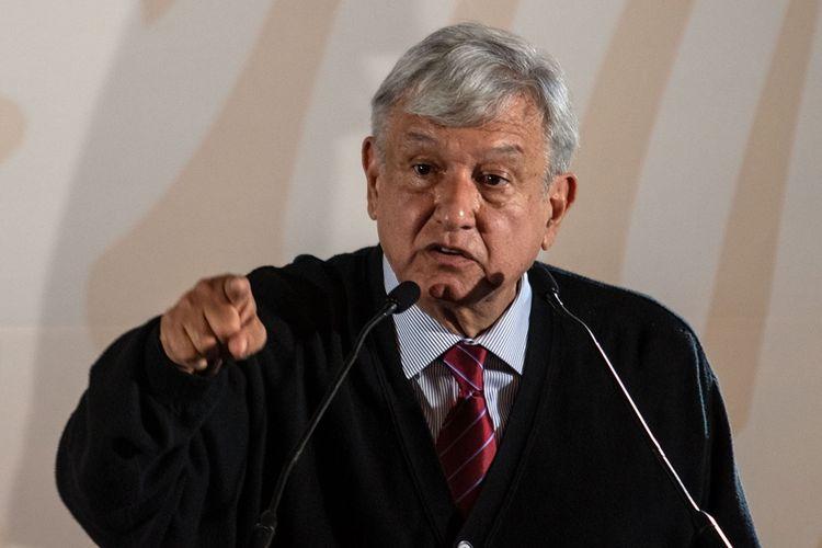 Presiden Meksiko Andres Manuel Lopez Obrador.