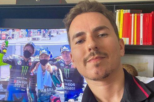 Sindir Cal Crutchlow, Lorenzo Perang Kata dengan Dua Pebalap MotoGP