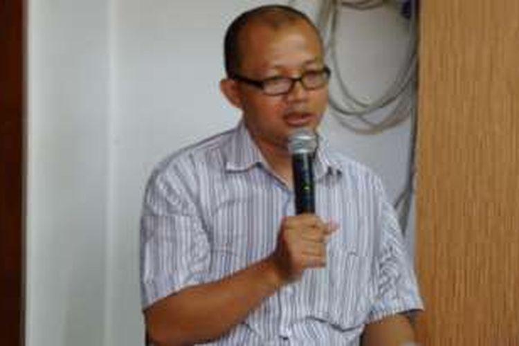 Koordinator Divisi Hukum dan Monitoring Peradilan ICW Emerson Yuntho.