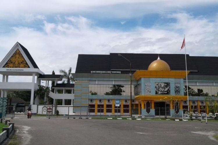 Asrama Haji Embarkasi Balikpapan yang digunakan sebagai tempat isolasi pasien Covid-19.