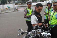 Polisi Panggil Penjamin Pengendara Harley yang Kabur Saat Akan Ditilang
