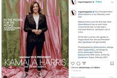 Gaya Kamala Harris dengan Sepatu Converse di Sampul Majalah Vogue