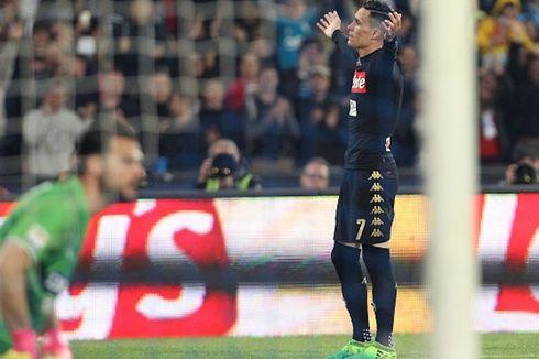 Hasil Liga Italia, Napoli Pangkas Jarak dengan AS Roma