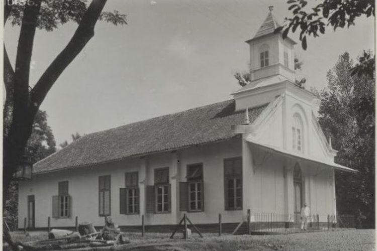 GPIB Immanuel Depok pada tahun 1930.
