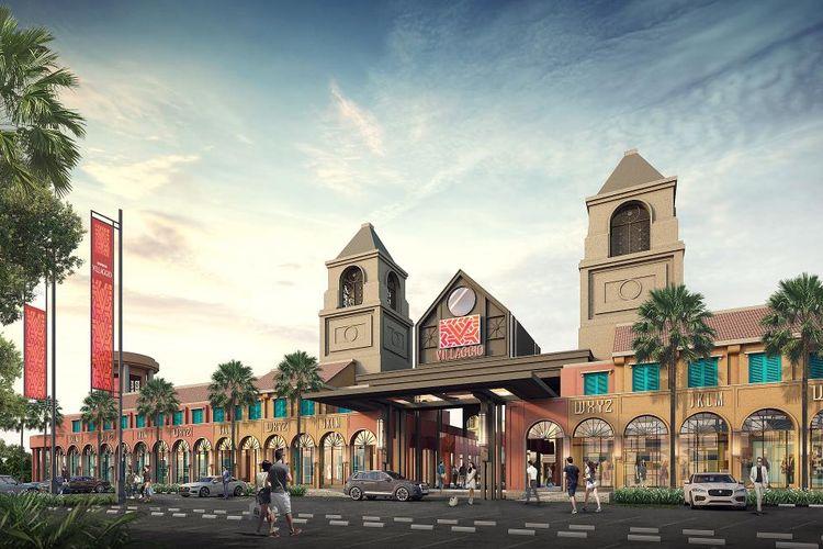 PT Summarecon Agung Tbk secara resmi memulai pembangunan fisik Summarecon Villaggio Jakarta Luxury Outlet (SVJLO), di Summarecon Emerald Karawang, Kamis (03/06/2021).