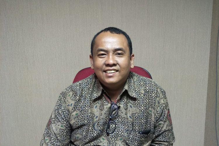 Kepala Ombudsman RI Perwakilan Jakarta Raya Teguh P Nugroho di kantor Ombudsman RI, Jalan HR Rasuna Said, Jakarta Selatan, Kamis (2/8/2018).