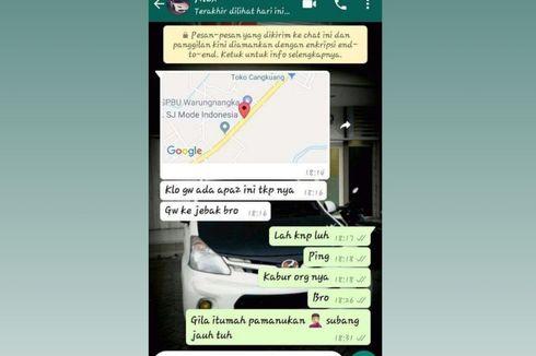 Ini Pesan WhatsApp Sopir Taksi Online yang Ditemukan Tewas di Sumedang