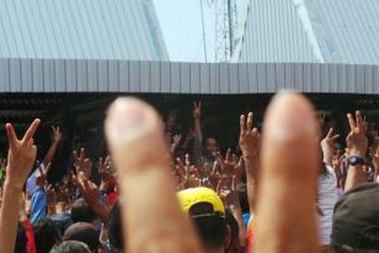 Jokowi di Nganjuk