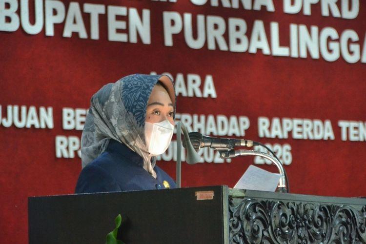 Bupati Purbalingga, Dyah Hayunging Pratiwi.