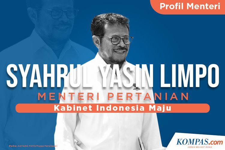 Profil Menteri, Syahrul Yasin Limpo Menteri Pertanian