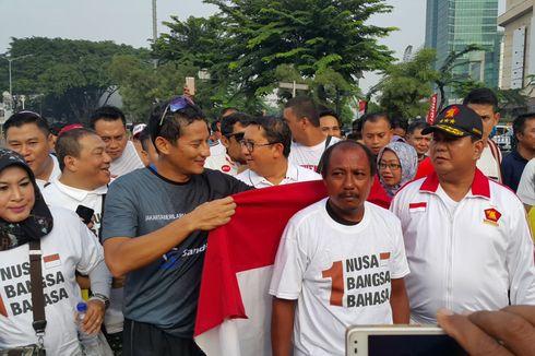 Sambutan Meriah untuk Pejalan Kaki dari Madiun yang Temui Anies-Sandi