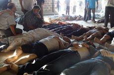 Aktivis: Rezim Assad Gunakan Senjata Kimia, Ratusan Tewas di Ghouta